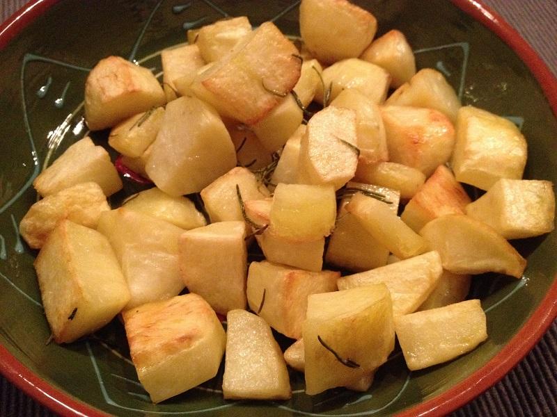 Rozemarijn-aardappelen uit de oven