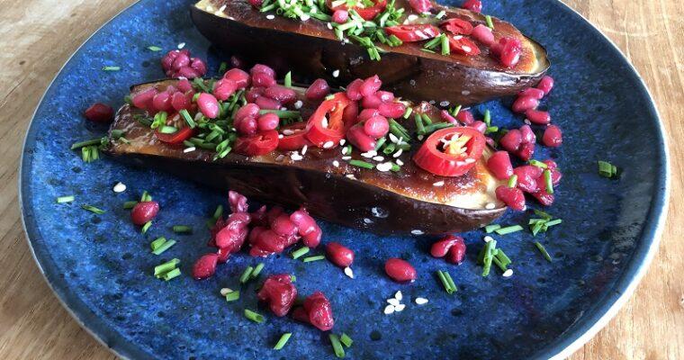 Miso aubergines